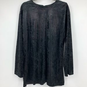 Ruth Norman Vintage Tunic Top Blouse Shimmer Snake